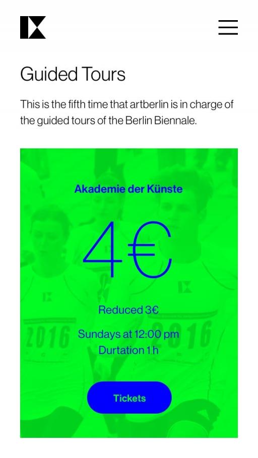 ALEX FIRS Berlin Biennale IX